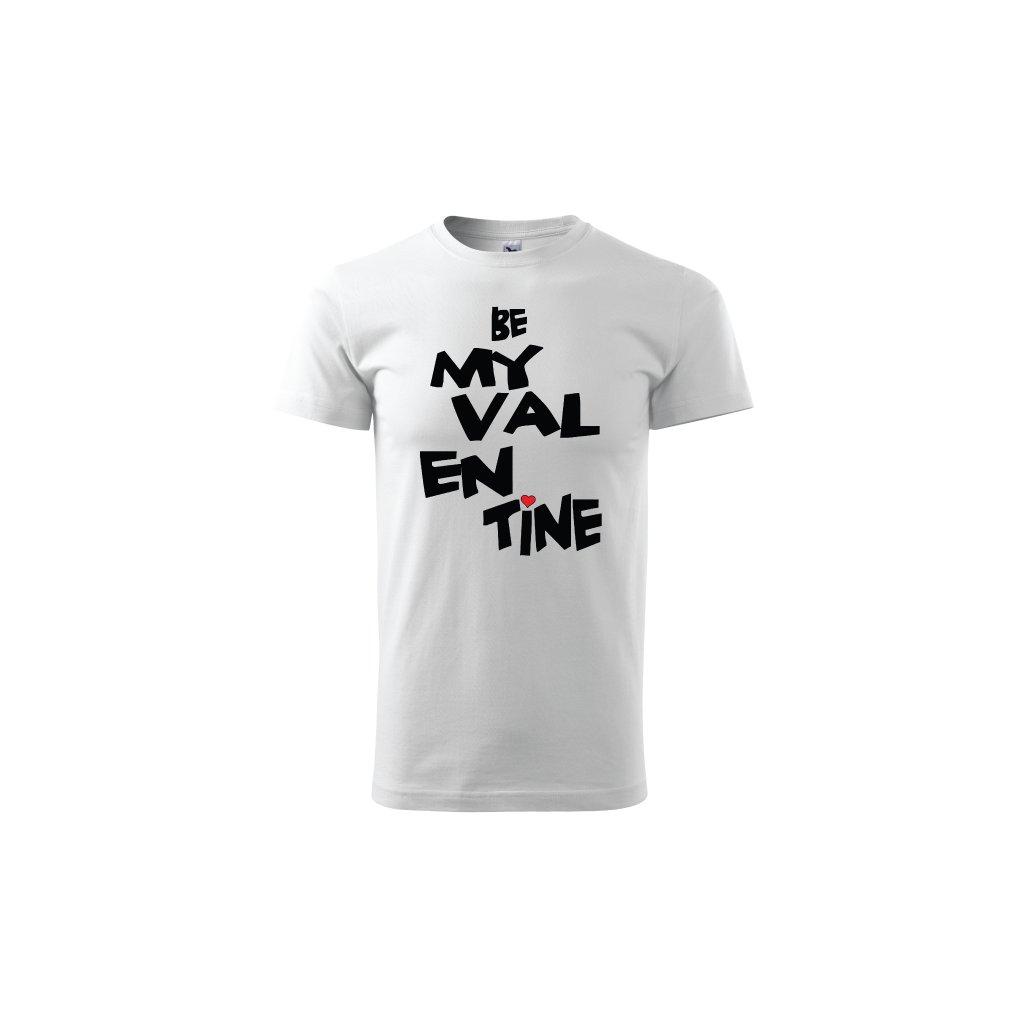 Pánské tričko Be My Valentine