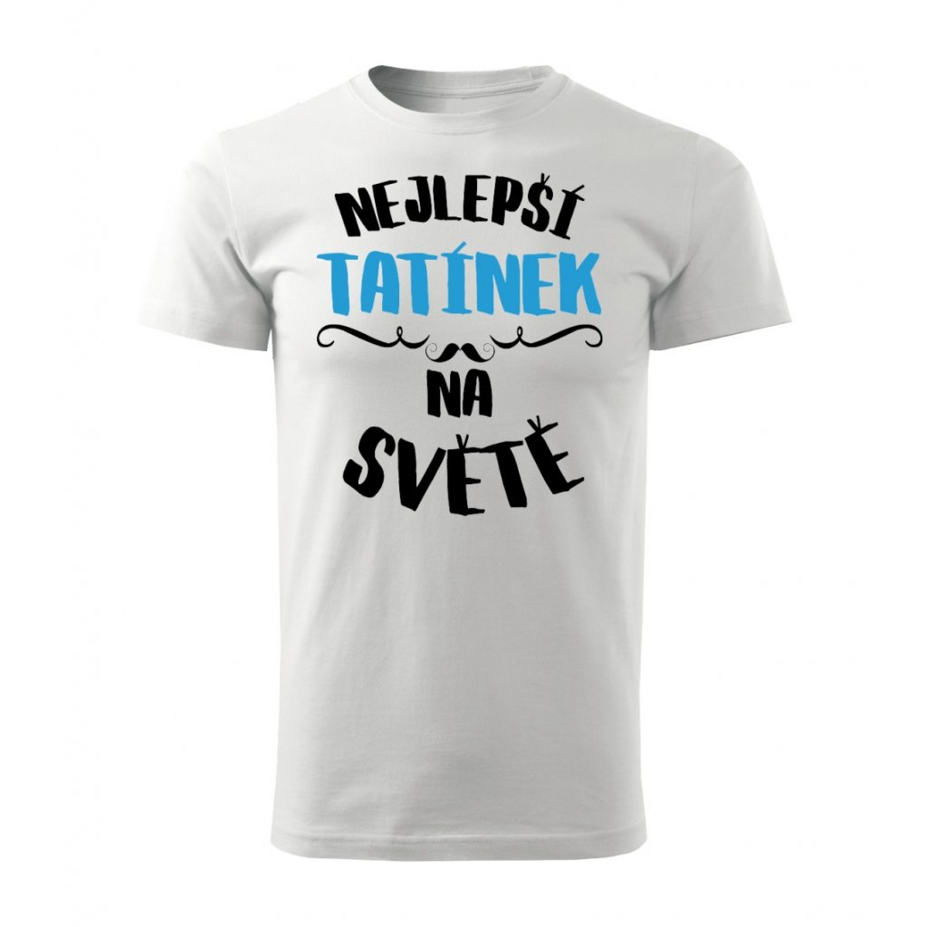 Pánské tričko Nejlepší tatínek na světě