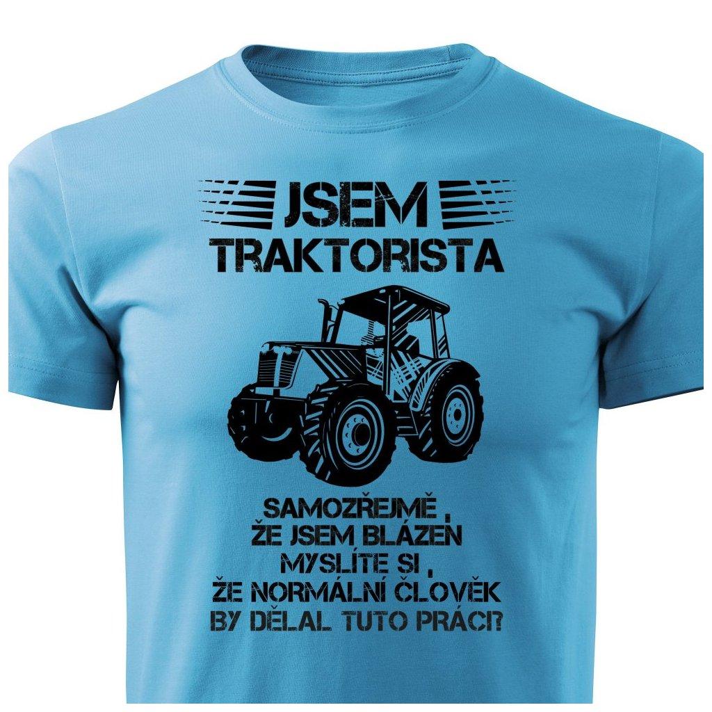 Pánské tričko Jsem traktorista