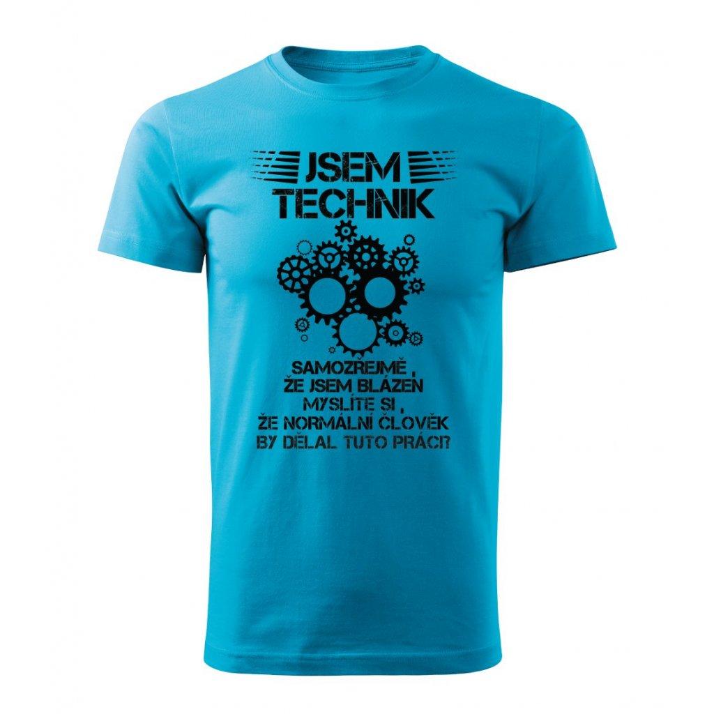 Pánské tričko Jsem technik