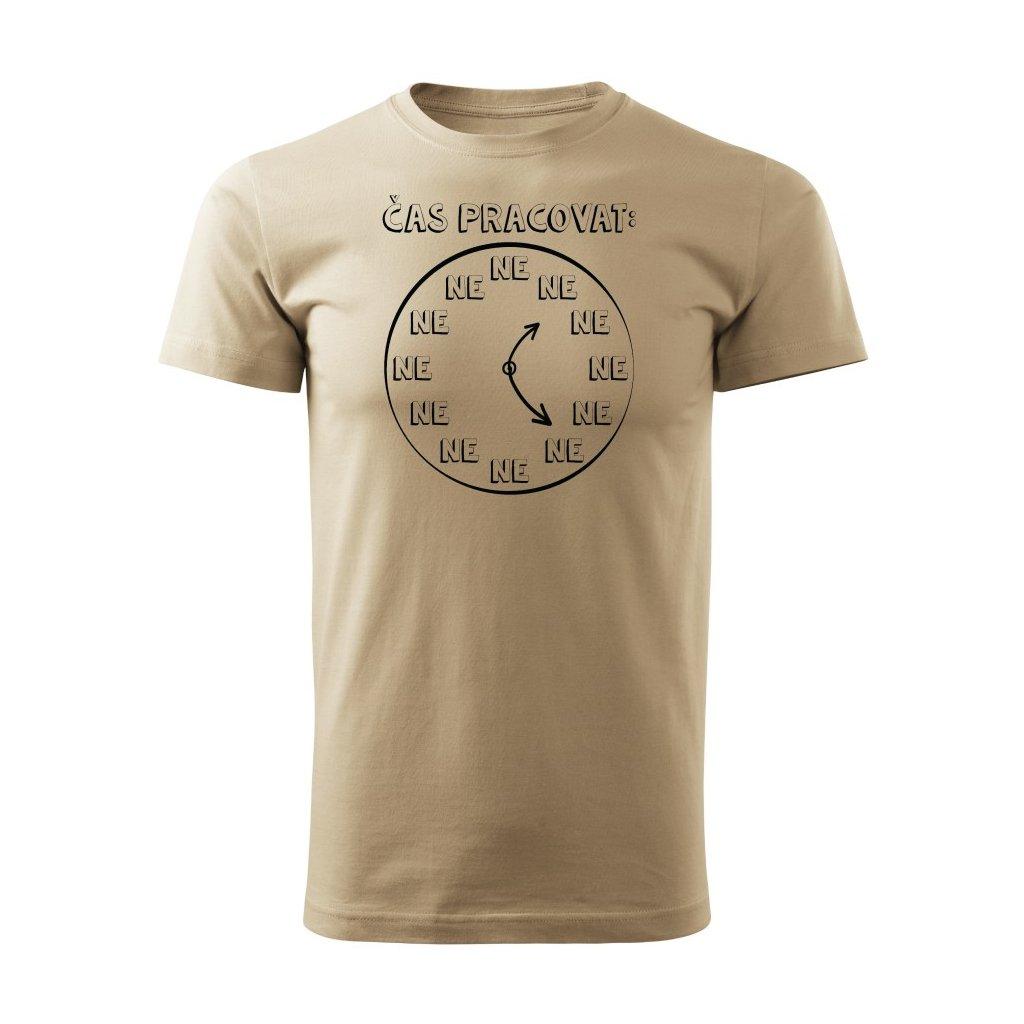 Pánské tričko Čas pracovat