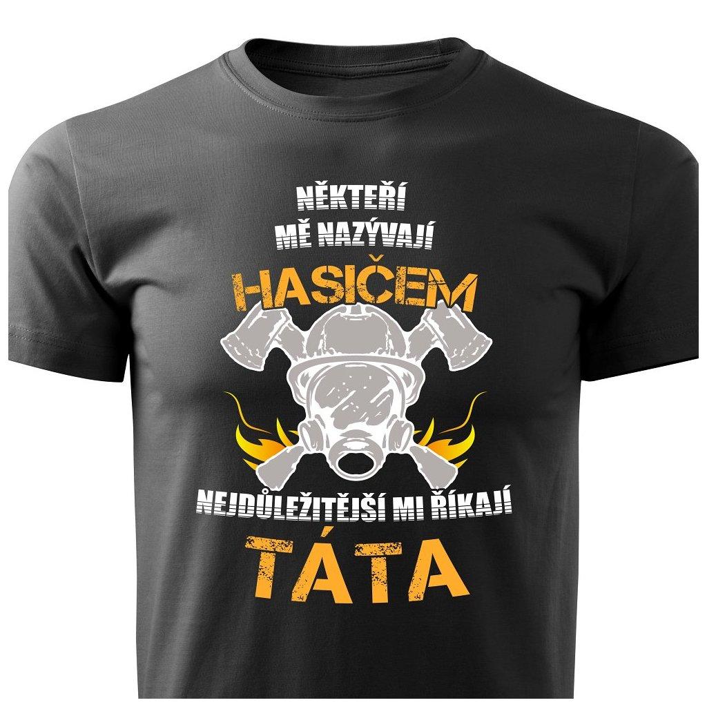 Pánské tričko Hasič - táta