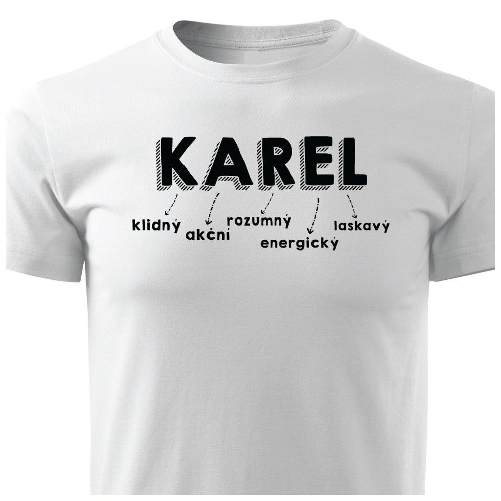 Pánské tričko Karel