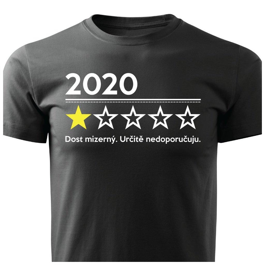 Pánské tričko Hodnocení roku 2020