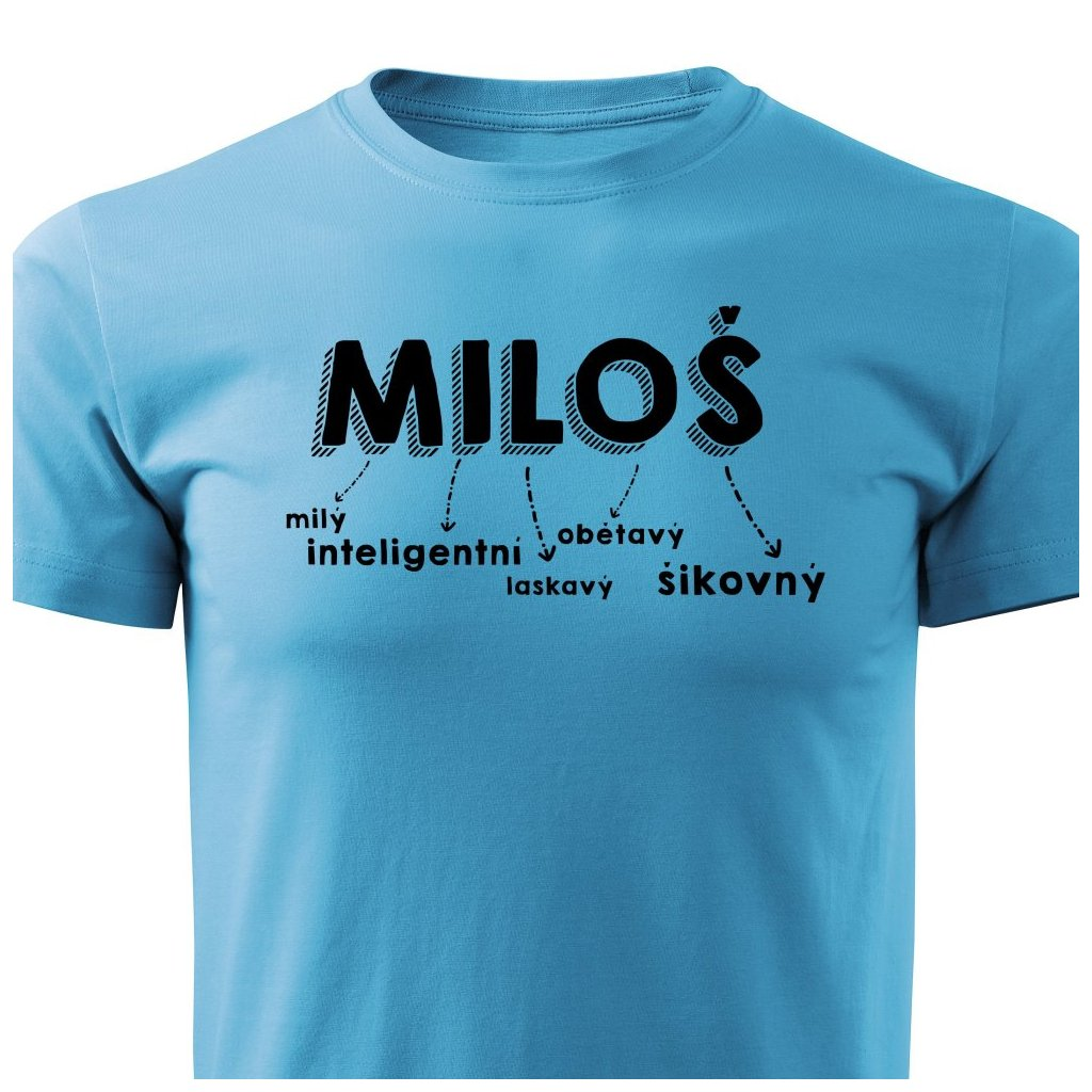 Pánské tričko Miloš
