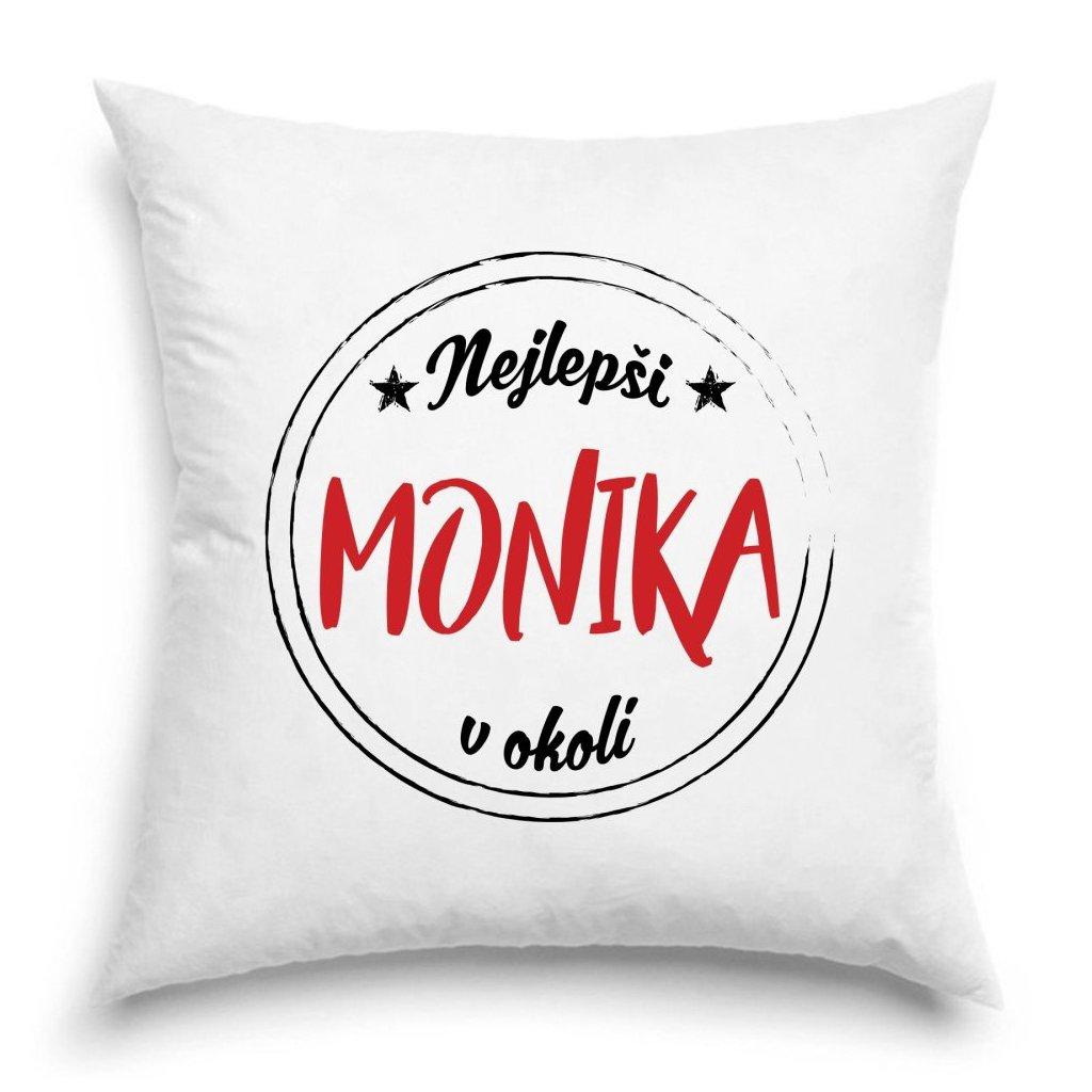 Polštář - Nejlepší Monika v okolí