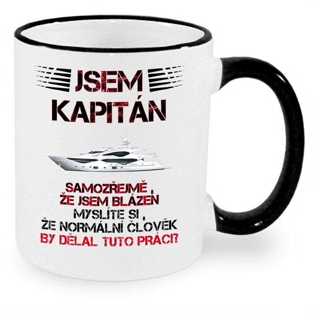 Hrnek - Jsem kapitán