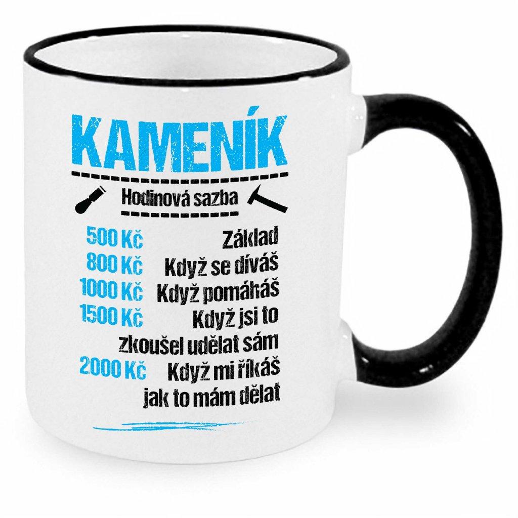 Hrnek Kameník - sazba