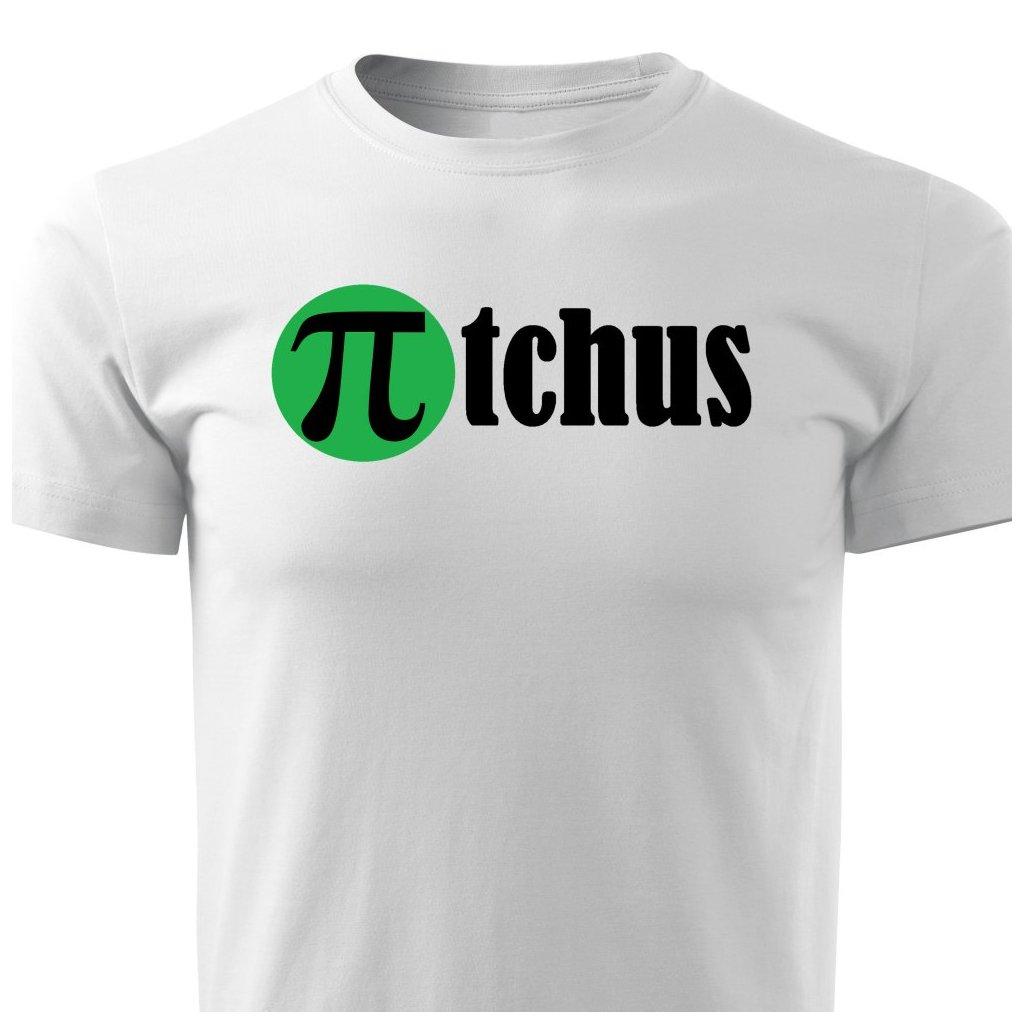 Pánské tričko πTchus - bílé