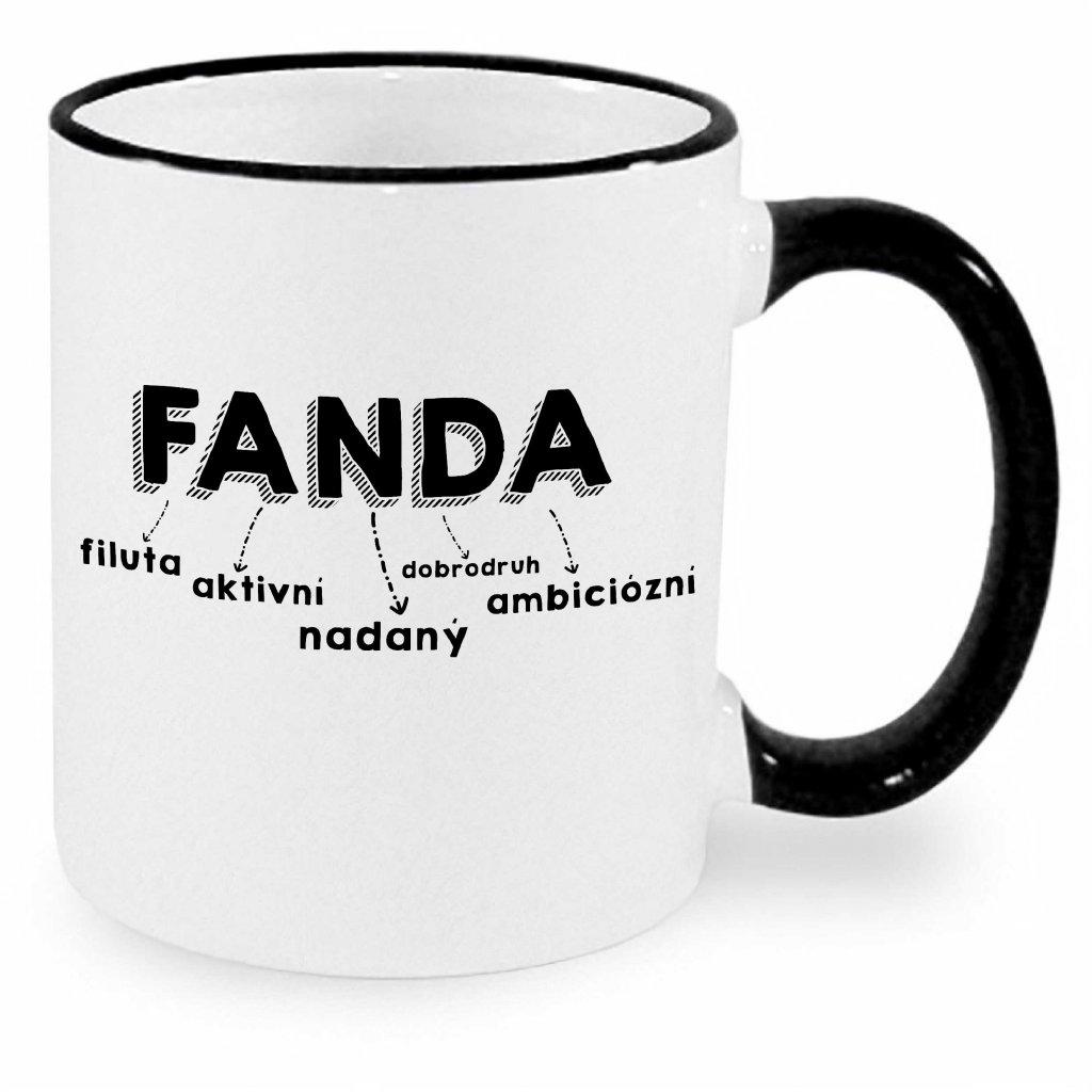 Hrnek - Fanda