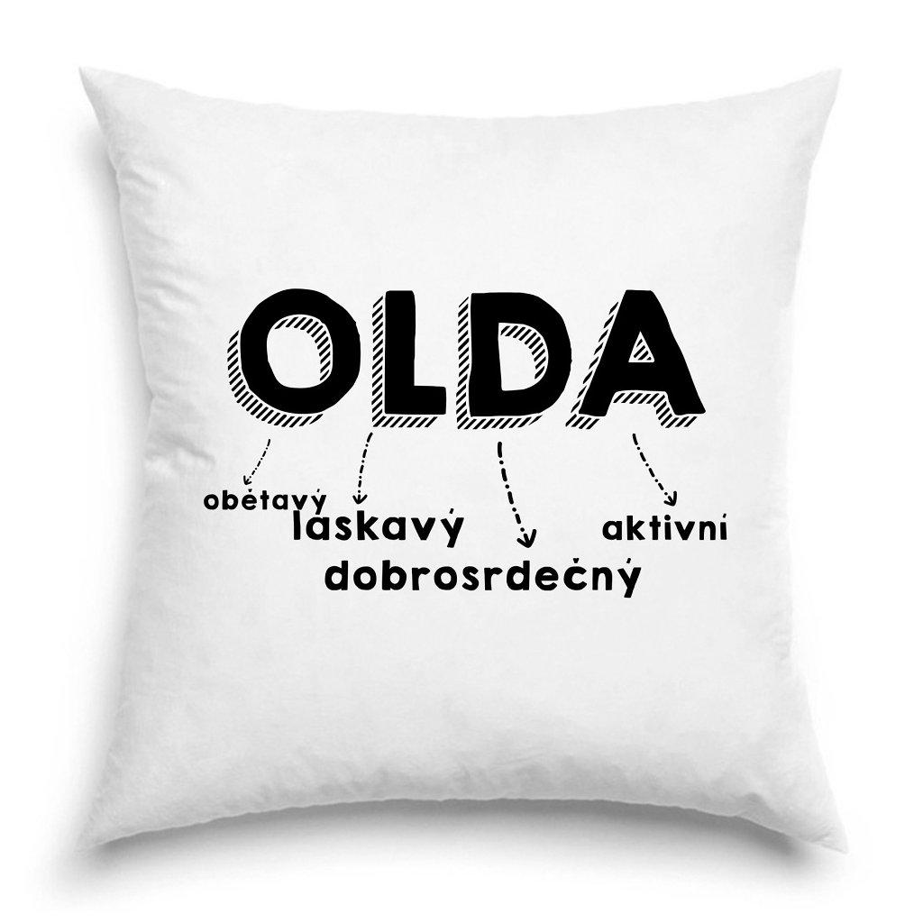 Polštář - Olda