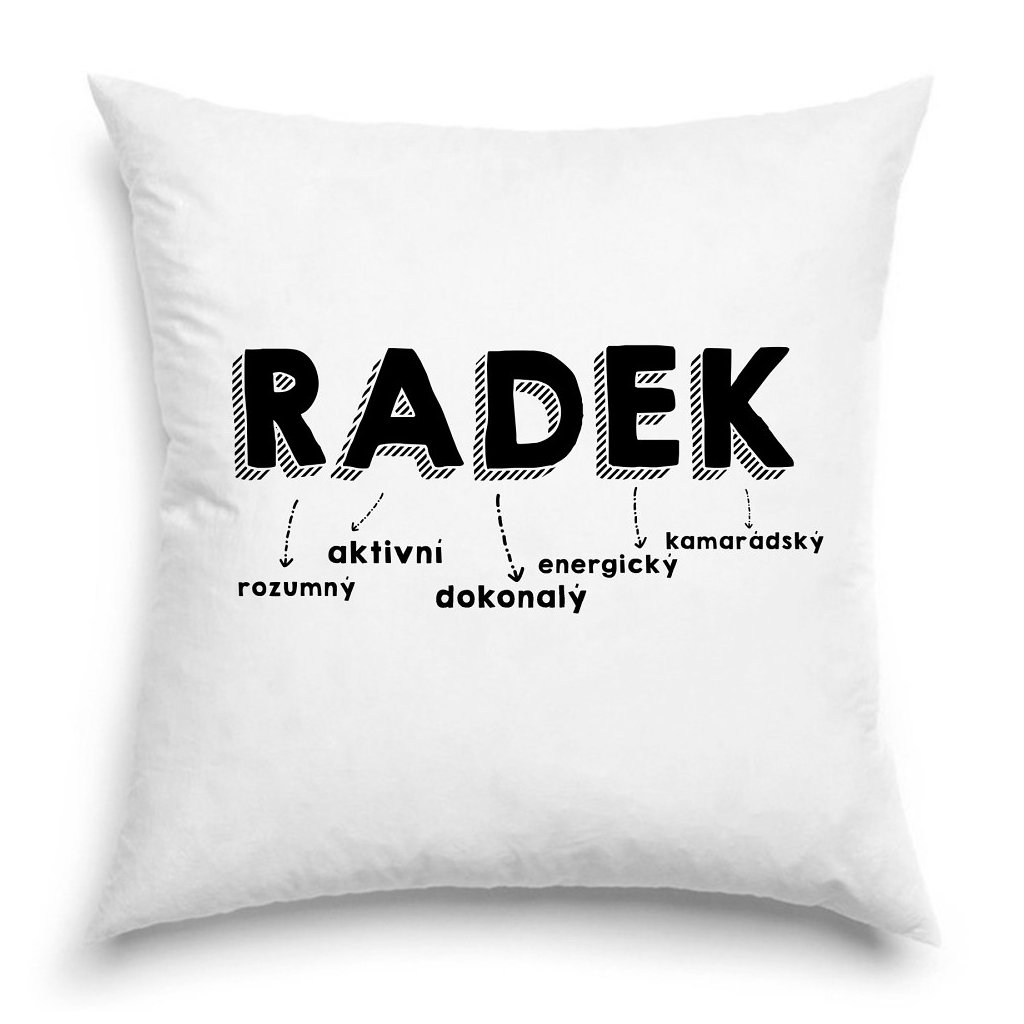Polštář - Radek