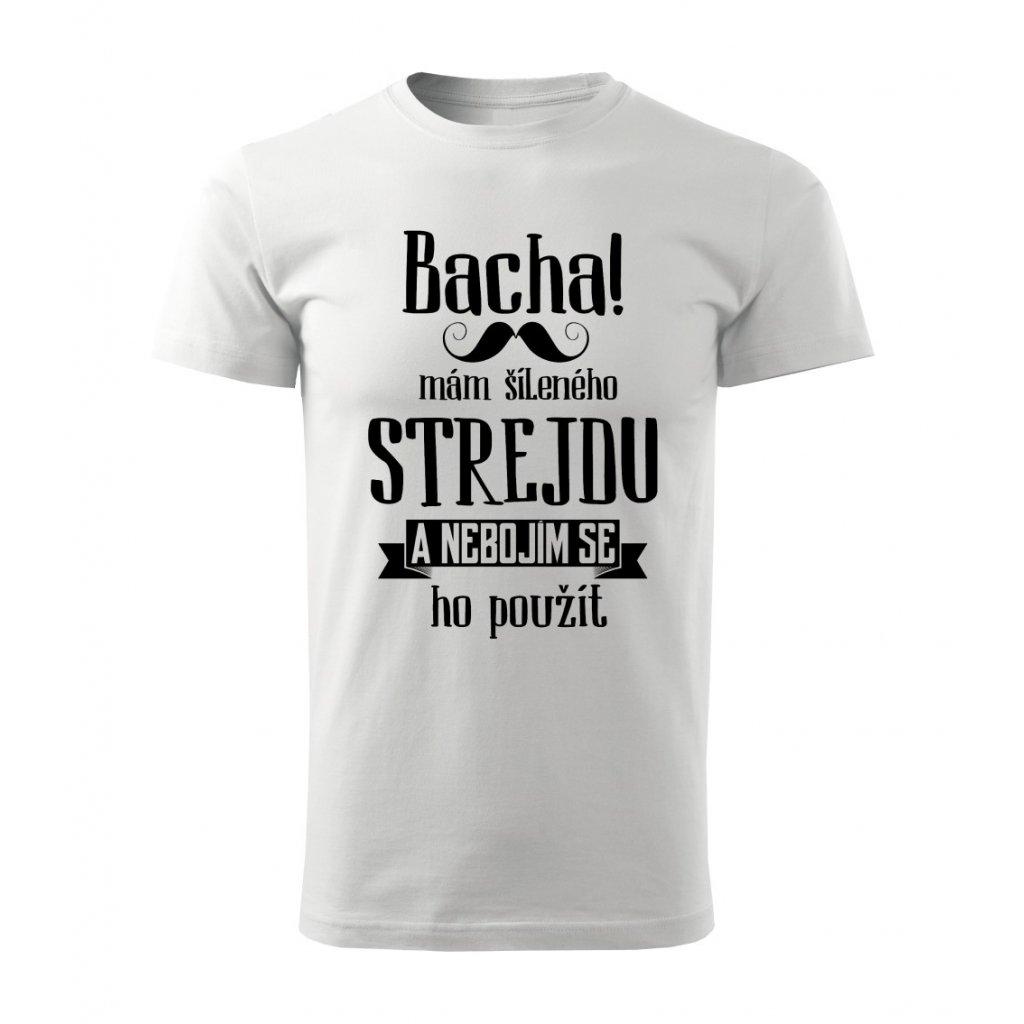 Dětské tričko Bacha, mám šíleného strejdu