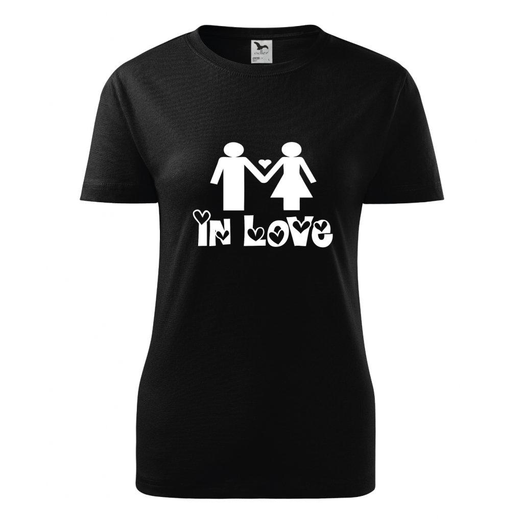 Dámské tričko In love