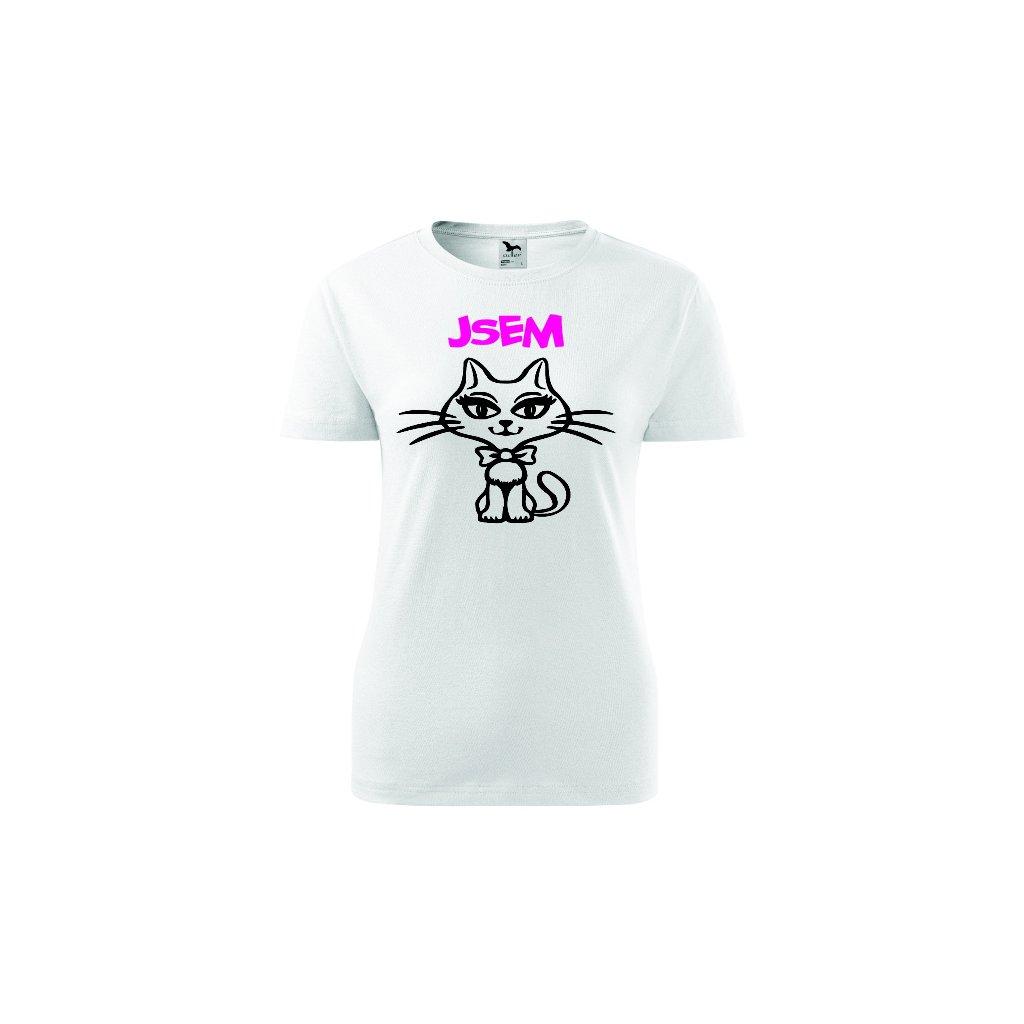 Dámské tričko Jsem kočka