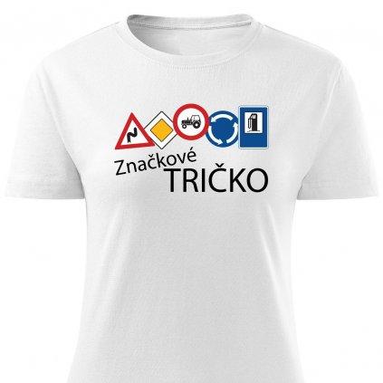 Dámské značkové tričko