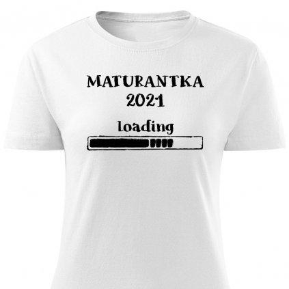 Dámské tričko Maturantka 2021 Loading