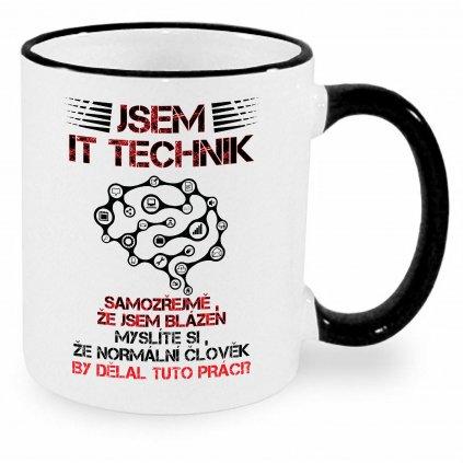 Hrnek - Jsem IT technik