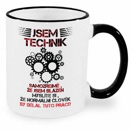 Hrnek - Jsem technik