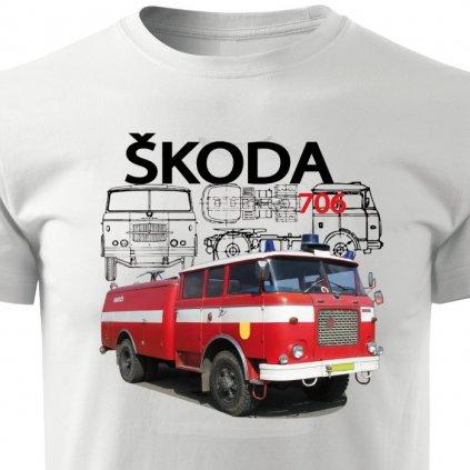 Pánské tričko Škoda 706