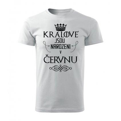 Pánské tričko Králové jsou narozeni v červnu
