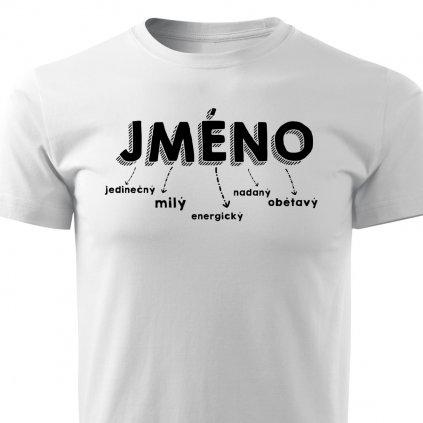Pánské tričko Jméno na přání