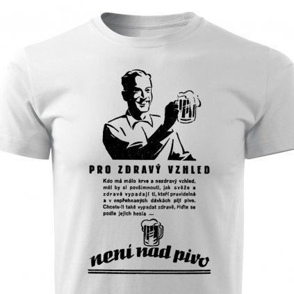 Pánské tričko Není nad pivo
