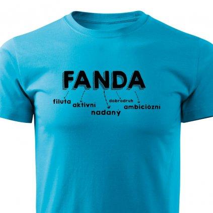 Pánské tričko Fanda