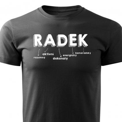 Pánské tričko Radek