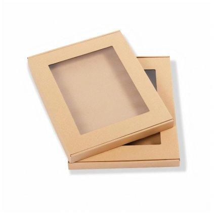 Dárková krabička - přírodní