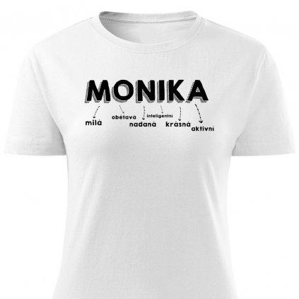 Dámské tričko Monika - bílé