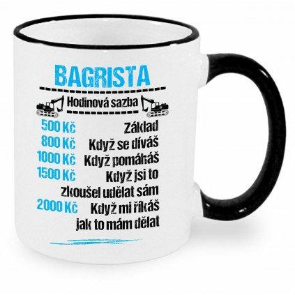 Hrnek Bagrista - sazba