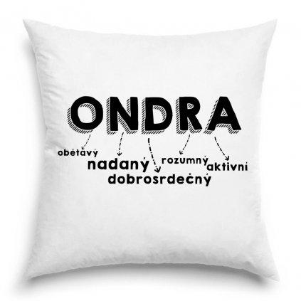 Polštář - Ondra