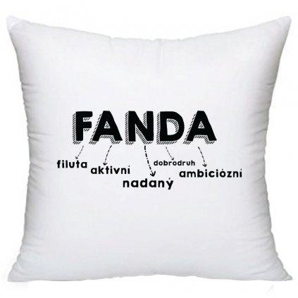 Polštář - Fanda
