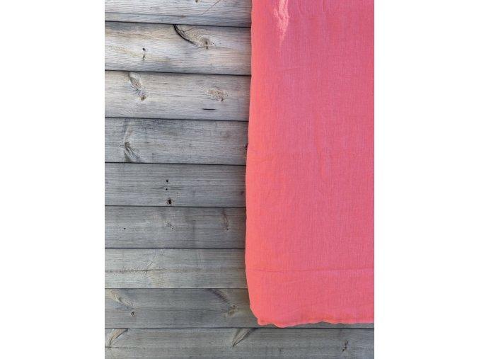 povlak na polštář/polštářek - tmavorůžová