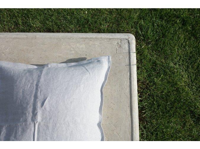 povlak na polštářek šedá - různé varianty