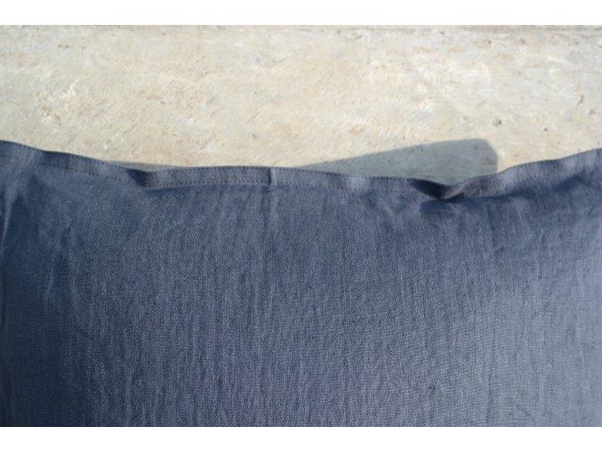 povlak na polštářek černá (vymytá) - více velikostí - SLEVA