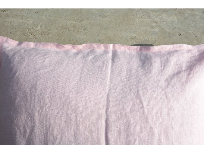 povlak na polštářek růžová - více velikostí - SLEVA