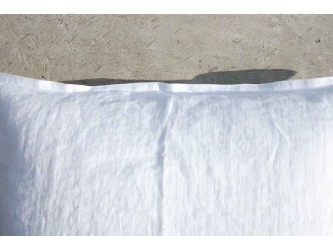 povlak na polštářek bílá - více velikostí - SLEVA