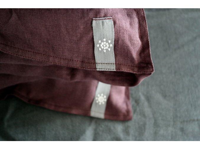povlak na polštář/polštářek - fialová