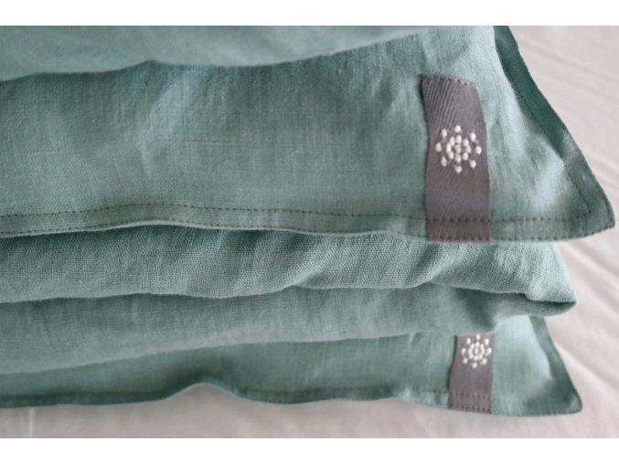 povlak na polštář/polštářek - aquamarín