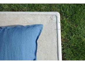 povlak na polštářek tmavomodrá - různé varianty