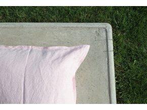 povlak na polštářek růžová - různé varianty