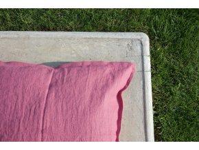 povlak na polštářek fuchsiová - různé varianty