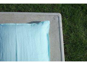 povlak na polštářek mintová - různé varianty