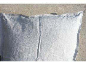 povlak na polštářek šedá - více velikostí - SLEVA