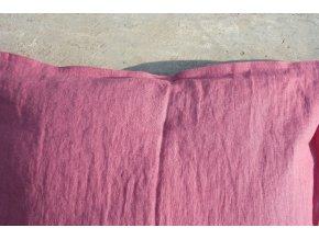 povlak na polštářek fuchsiová - více velikostí - SLEVA
