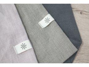Lněný obal na oblečení