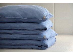 povlak na polštář/polštářek - modrá
