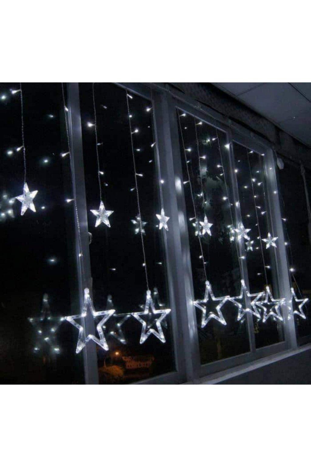 VÁNOČNÍ LED ŘETĚZ - Hvězdy